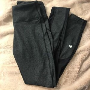 Lululemon Athletica Mesh Cut-Out Pants